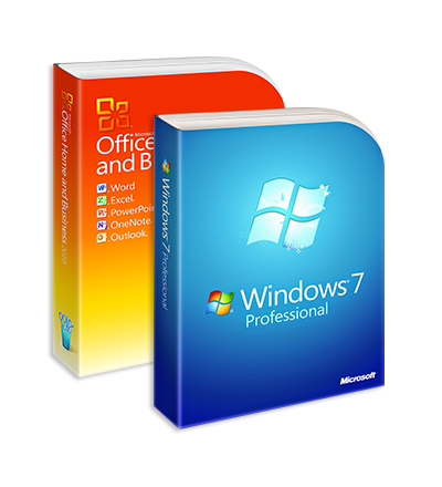 Windows 7 Professional + Office 2010 Home&Business ESD