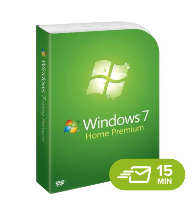 Windows 7 Home Premium - elektronická licence