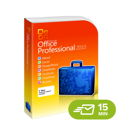 Office 2010 Professional - elektronická licence