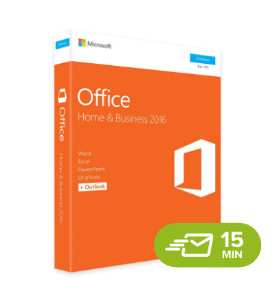 Office 2016 Home & Business - elektronická licence