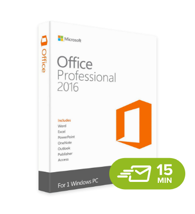 Office 2016 Professional - elektronická licence