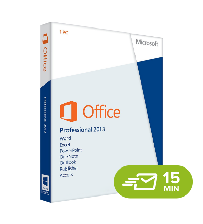 Office 2013 Professional - elektronická licence