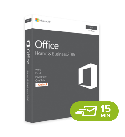 Office 2016 Home & Business MacOS - elektronická licence