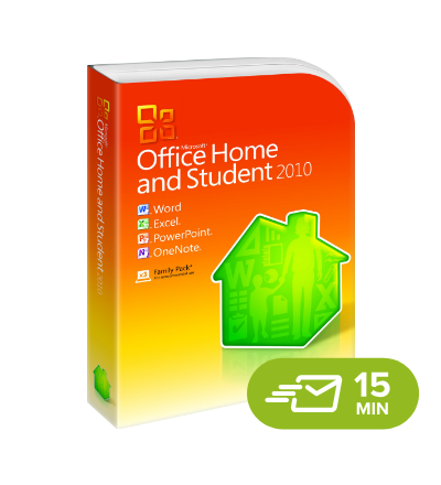 Office 2010 Home & Student - elektronická licence
