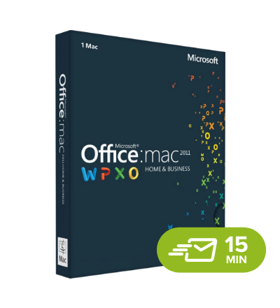 Office 2011 Home & Business MacOS - elektronická licence