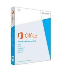 Office 2013 Home & Business - hmotná licence