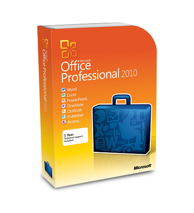 Microsoft Office 2010 Professional ESD