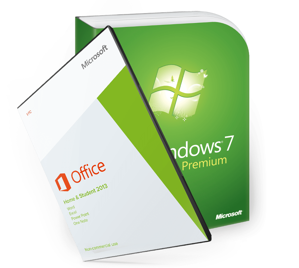 Windows 7 Home Premium + Office 2013 Home&Student ESD