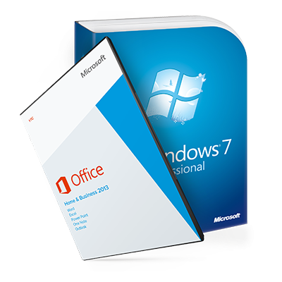 Windows 7 Professional + Office 2013 Home&Business ESD