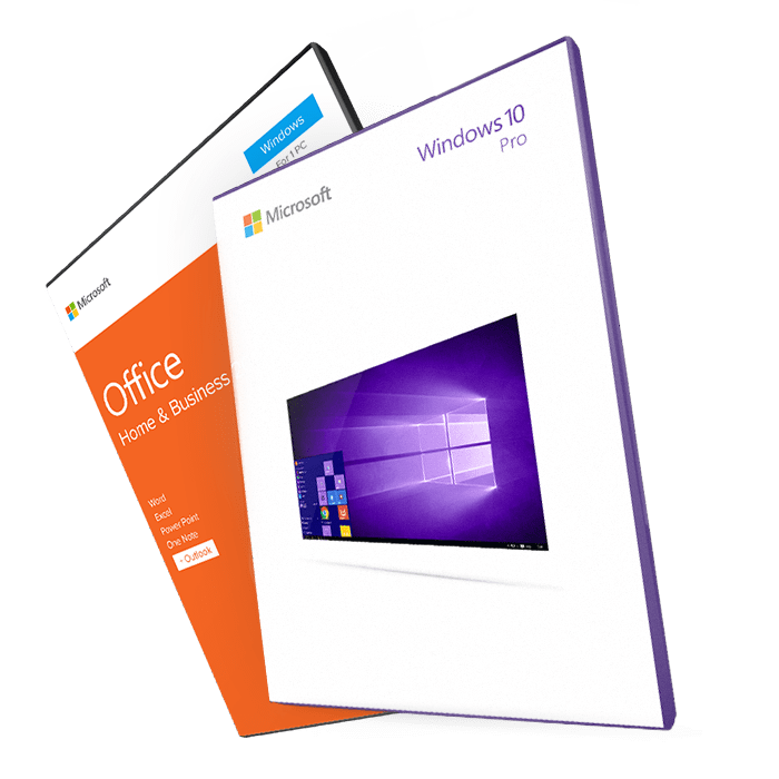 Windows 10 Professional + Office 2016 Home&Business ESD