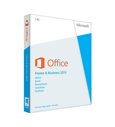 Microsoft Office 2013 Home and Business - elektronická licence