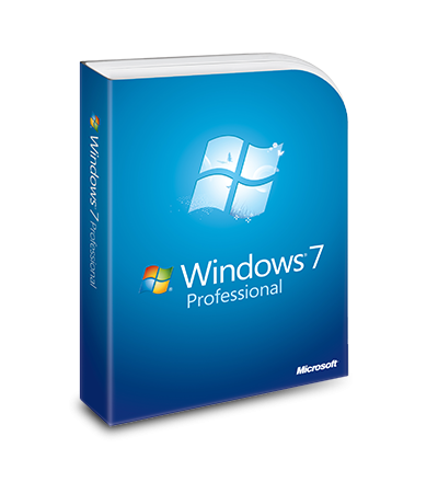 Windows 7 Professional - hmotná licence