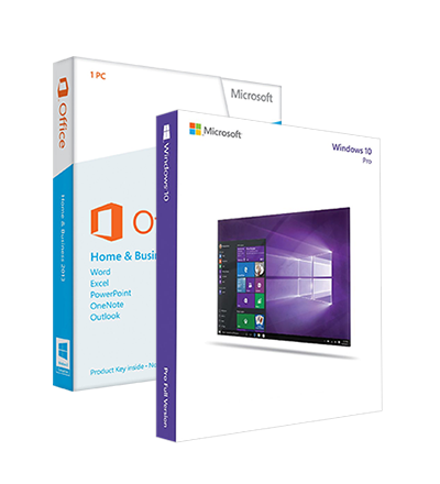 Windows 10 Professional + Office 2013 Home&Business ESD