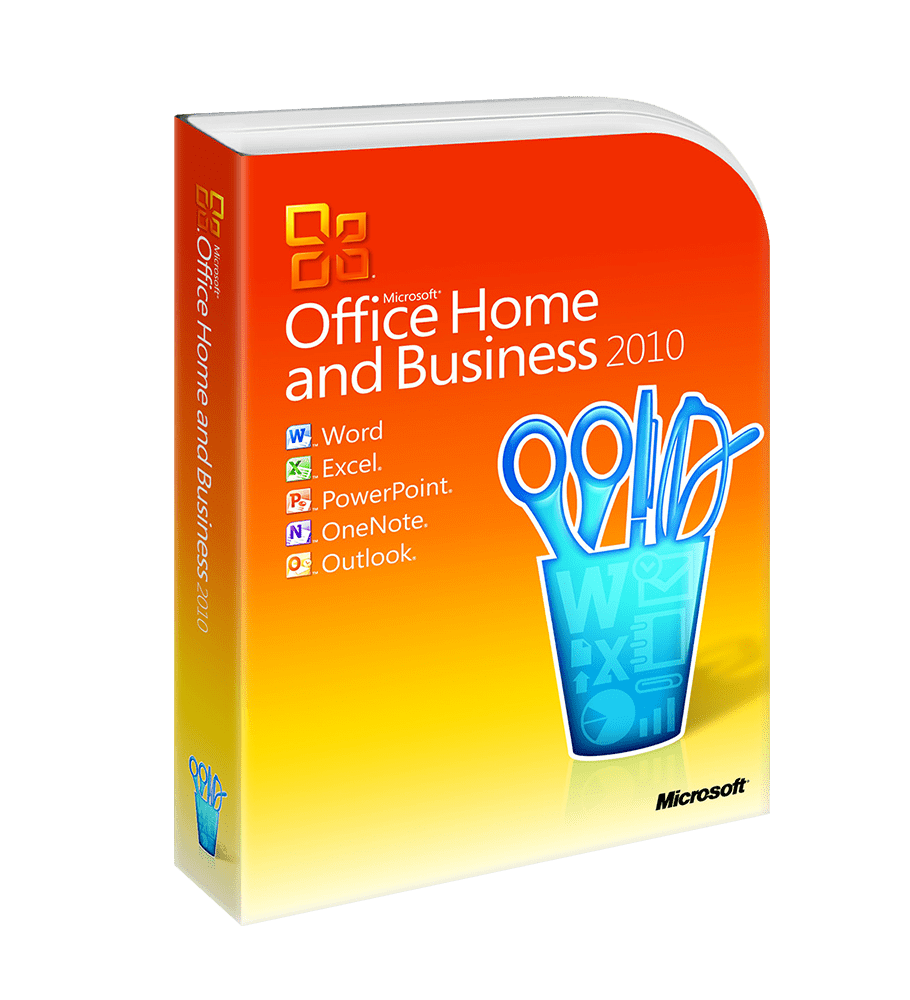 Microsoft Office 2010 Home and Business - elektronická licence