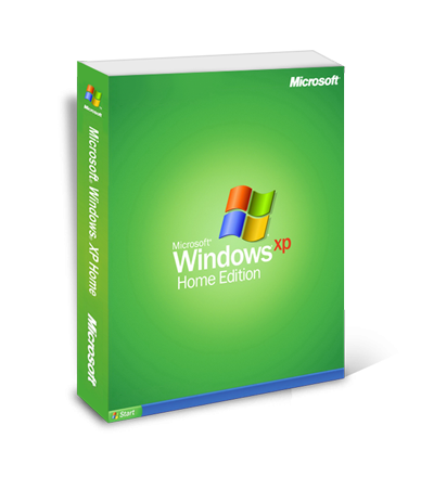 Windows XP Home - hmotná licence