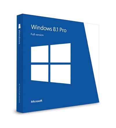 Windows 8.1 Professional - elektronická licence